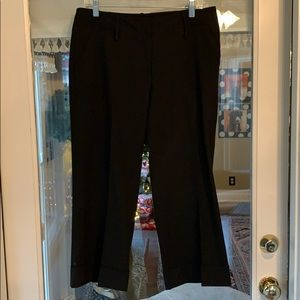 Michael Kors Cropped Black Pants